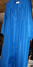 """Graduation Gown.Jostens   5'7 -5'9""""/preowned. Med. Blue"""