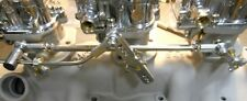 3x2 PROG. LINKAGE HOT ROD STROMBERG 97 FLATHEAD TRI POWER STAINLESS (OUR BEST)