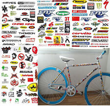 3 Sheet Car Bicycle Cycling Sticker MTB Bike Skateboard Decal Stickers DIY New