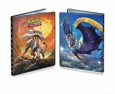 Ultra Pro Pokemon Solgaleo Lunala Album 9 Pocket Portfolio Sun & Moon Binder and