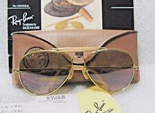 "RAY-BAN EXLNT 1987 Ltd VINTAGE B&L AVIATOR ""THE GENERAL"" *RB-50 W0364 SUNGLASSES"