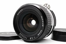[Exc+++++] Nikon Ai-s NIKKOR 24mm f/2.8 AIS MF Lens Free Shipping From Japan