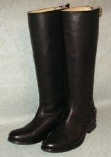 Frye 'Phillip Harness' Tall Washed Leather Riding Boot Size 5.5  Black