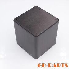 Black Aluminum Transformer Triod Protect Cover Enclosure for AMP 110x110x116mmx1