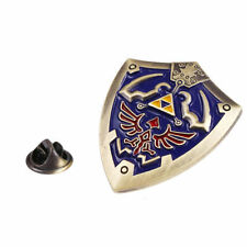 The Legend of Zelda Hylian Shield Brooch Pin Metal - BRAND NEW - FREE SHIPPING