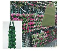 12 x Strong Hanging Planter Grow Bag Pouch Tomato Herbs Flowers Strawberries
