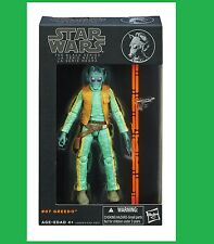 Greedo #07 New Star Wars The Black Series 6 inch Action Figure Wave 2 Hasbro
