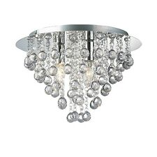 Modern 3 Light Ceiling Chandelier New Bedroom Living room Chrome