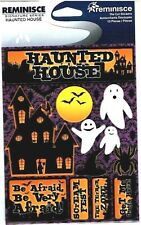Reminisce - Haunted House 3D Scrapbooking Stickers - Halloween Be Afraid