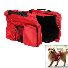 Pet Dog Puppy Bag Backpack Saddle Harness Pack Travel Camping Hiking Outdoors