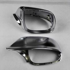 for Audi Q7 car mirror cover cap housing electroplating Silver With Side Assist