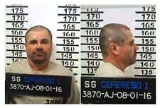 EL CHAPO MUG SHOT 8X10 PHOTO MEXICO ORGANIZED CRIME DRUG CARTEL PICTURE GUZMAN