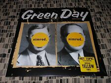 GREEN DAY  NIMROD  LIMITED EDITION YELLOW Vinyl Sealed