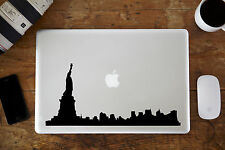 "New York Skyline Decal Sticker Para Apple Macbook air/pro Laptop 11 "" 12"" de 13 "" 15"""