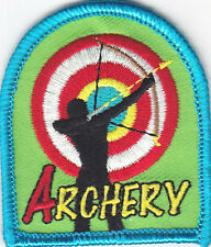 """""""ARCHERY""""  - IRON ON EMBROIDERED PATCH/Sport, Games, Competition"""