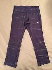 Nike Epic Run Crop Tights Running Yoga Small