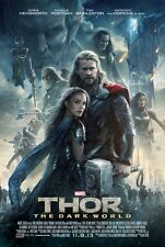 Thor 2 Dark World - original DS movie poster D/S 27x40 - INTL FINAL
