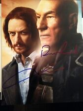 Patrick Stewart James McAvoy signed autographed 8x10 photo X-Men