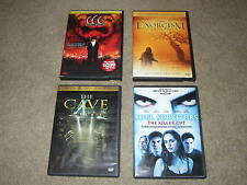 Lot of 4 Scary Horror DVDs Soul Survivors, The Cave, Exorcism Emily Rose, 666