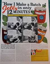 Vintage ad How I Make a Batch of Jelly in only 12 minutes! Flea Market Chic