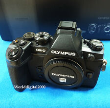 Olympus OM-D E-M1 Only Body (Black) 34 Languages Selectable Wi-Fi