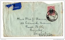 Southern Rhodesia 1936 KGV 6d Airmail Cover to England X778