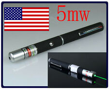 NEW 5mw Green High Powered Laser Pointer USA SELLER