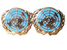 Un United Nations Military Cufflinks Blue