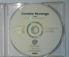 Zombie Revenge - Sega Dreamcast - White Label Promo - Disc Only - RARE (gr)