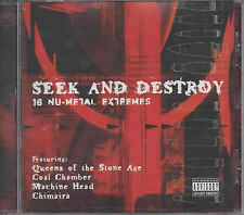 Seek And Destroy 16 Nu-Metal Extremes CD NEU Shelter Anyone Dry Kill Logic