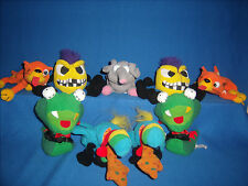 **CLEARANCE** Lot of 9 MEANIES Plush beanbag toy Series 1 Idea Factory (F27-5)
