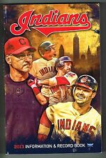 2013 Cleveland Indians MLB Baseball Media GUIDE