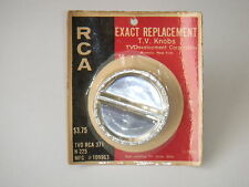 Vintage RCA 109963 TV Channel Selector Knob - Exact Replacement By TVD #RCA 371