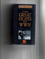 The Great Escapes of WWII Two VHS Tapes The Great Escape & Escape From Arizona