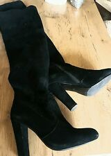 Daniel Black over the knee boots size 4