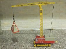 Vintage 1975 Corgi Major Tower Crane w Load