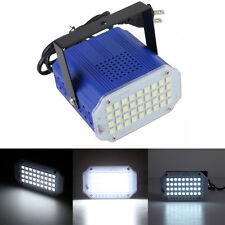 DJ Strobe Light Flash Light 36 LED Bulb Club Stage Lighting DJ Party Disco