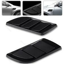 2x Car Air Flow Intake Duct Fender #G Grille Side Vent Cover Decorative Sticker