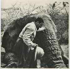 Somalia, Italo Balbo in Somalia  Vintage . Tirage postérieur 1958. Italo Balbo