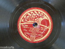 78rpm SYD ROY & R K OLIANS something about a soldier / make hay while the sun is