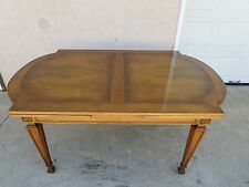 Karges French Regency Carved Dining Room Banquet Refractory Table Louis XV