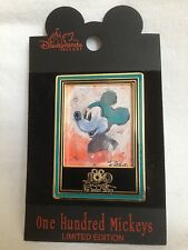 DISNEY 100 MICKEYS PIN ERIC ROBISON DLR MICKEY MOUSE LE3500 NEW ON CARD #26 RARE