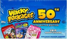 2017 Topps Wacky Packages 50th Anniversary Collector Edition Hobby Sticker Box