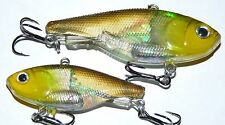 60mm 17g Soft Vibe custom UV colours mask lure Bream Bass FREE SHIPPING Colour 4
