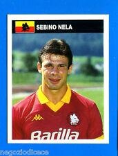 [VS] CAMPIONI & CAMPIONATO 90/91-Figurina n. 307 - NELA - ROMA -New
