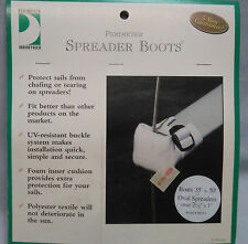 Spreader Boots for Sailing Boats and Yachts UV resistant polyester with cushioni