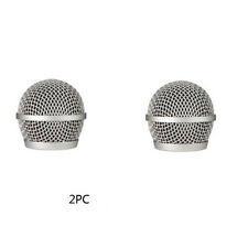 2 PCS Ball Head Mesh Mic Grille Fits For shure PG48/PG58 microphone