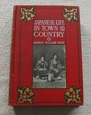 JAPANESE LIFE 1905 In Town & Country by Knox, Fold-Out Map, Vintage Photos VG+