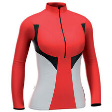 2011 De Marchi Ladies Contour Cycling Jersey Red Large