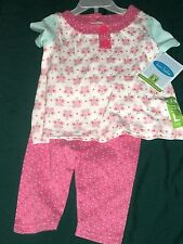 NEW BON BEBE  OUTFIT INFANT GIRLS 6-9 MO'S - BUTTERFLIES